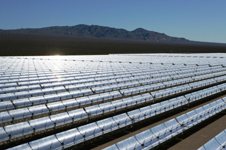 Fort Irwin Solar Power Plant