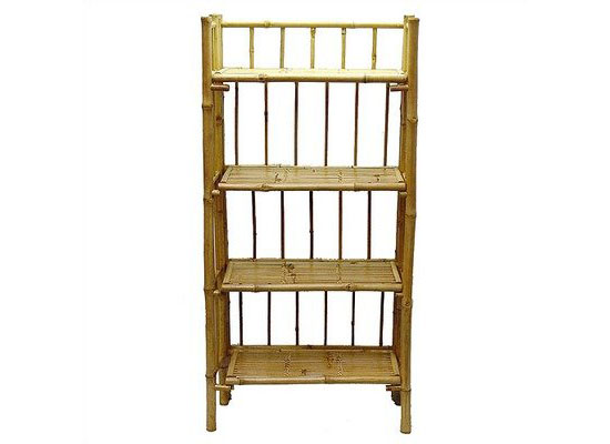 Four Tier Bamboo Shelf