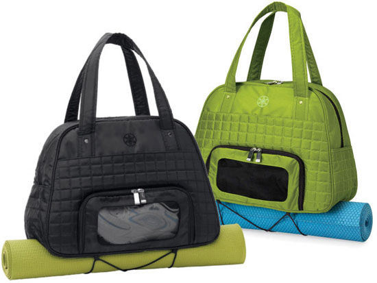 Gaiam Everything Fits Recycled Gym Bag