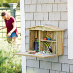 Gardenside Potting Cupboard Saves You Multiple Trips Back and Forth to Your Shed/Garage