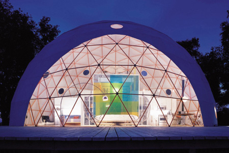 Green Home Design on Dome House By Shawn Hausman And Jessica Kimberley   Green Design Blog
