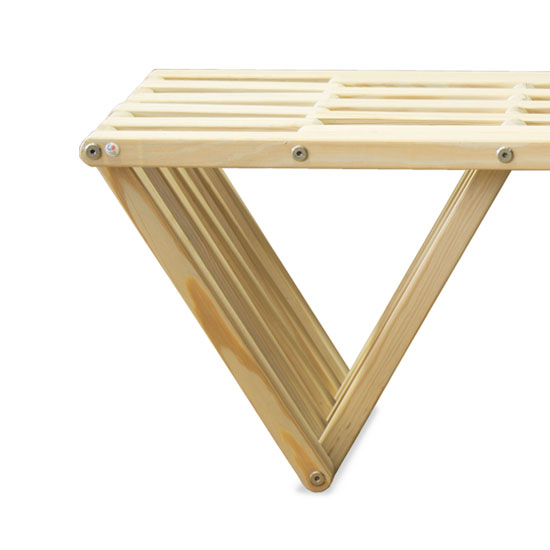 Glodea Eco-Friendly Bench X60 Modern Furniture