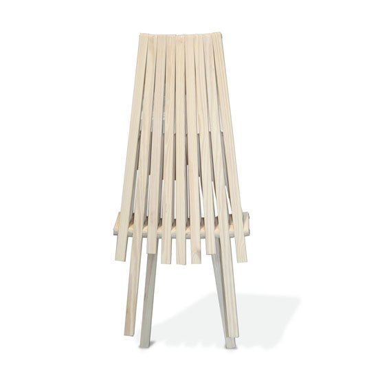 GloDea X45 Natural Lounge Chair