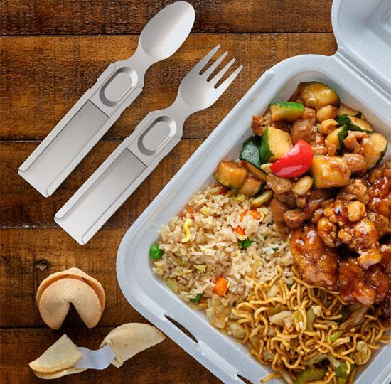 GoSun Flatware Wants To End the Era of Those Single-Use Plastic Cutlery