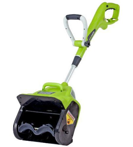 Greenwork Snow Thrower
