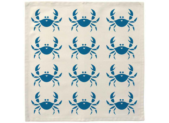 Happy Crab Cloth Napkins