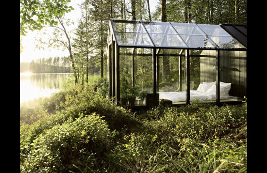 Hara And Bergroth Garden Shed Is Your Relaxing Glass Bedroom Too