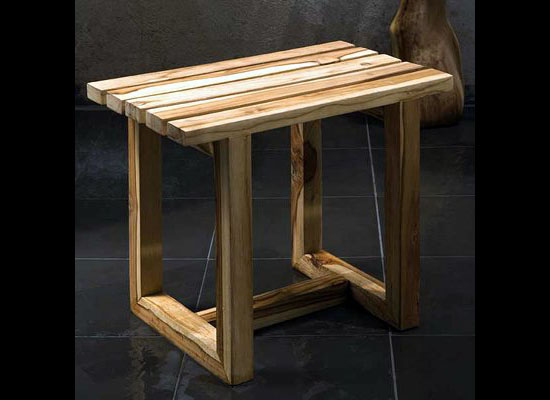 Haussmann Eco-friendly Spa Stool