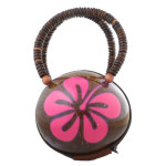 Hawaiian Real Coconut Purse Handbag Is Eco-friendly And Stylish
