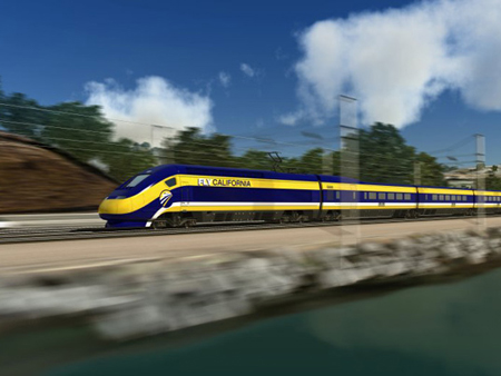 California's High-Speed Rail Will Reduce Emission