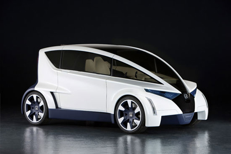 The P Nut Concept Car From Honda Green Design Blog
