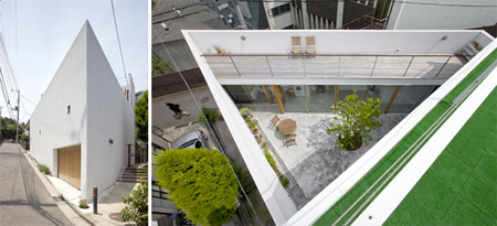 Garden House by Takeshi Hosaka