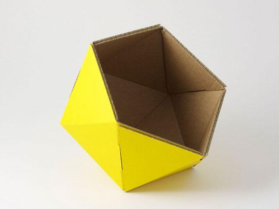 ICO Recycled Cardboard Baskets