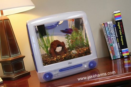 iMac Aquarium Kit by Jake Harms