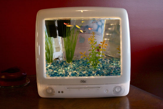 Fish Tank Will Turn Your Old iMac Into A Lovely Aquarium Green ...