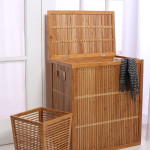 Make Use Of Our Sustainable Resources And Give Back To Nature Through InThiSPACE Modern Bamboo Waste Basket