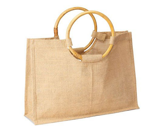 Jute Beach Wedding Gift Tote Bag