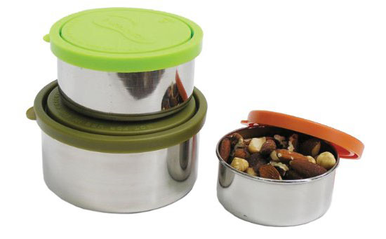 Kids Konserve Nesting Trio Stainless Steel Containers