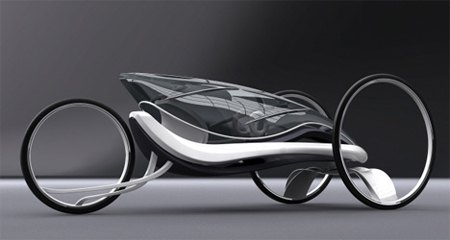 Wind Light Vehicle : Wind-Powered Transportation Concept