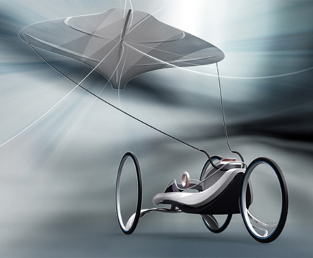 wind powered cars article