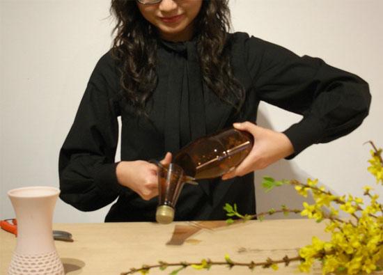 Lace Sustainable Vase