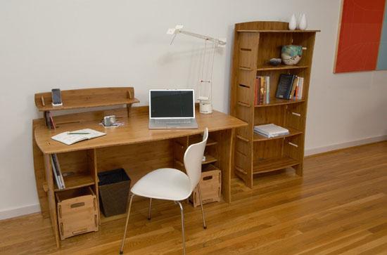 Lagare 59-Inch By 3-Inch Bookcase