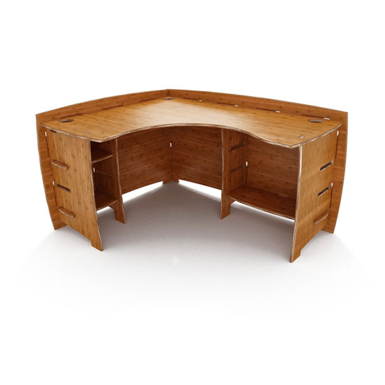 Lagare 60-Inch By 47-Inch Corner Desk