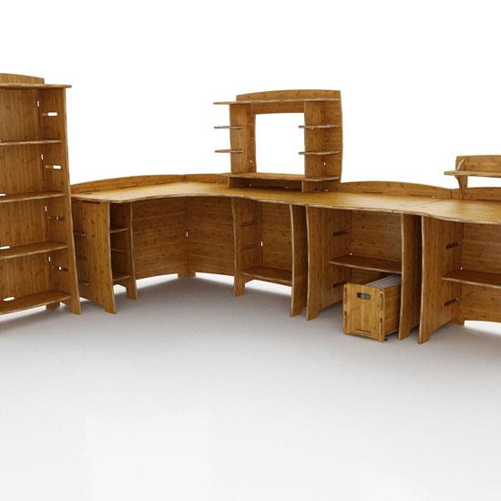 Lagare 60-Inch By 47-Inch Corner Desk
