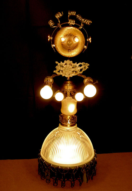 Lamp Revival Collection by Maurice Klapfish - Lady Marmalade - How To Recycle Waste