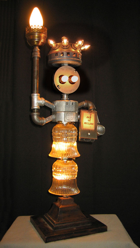Lamp Revival Collection by Maurice Klapfish - Libra Electra