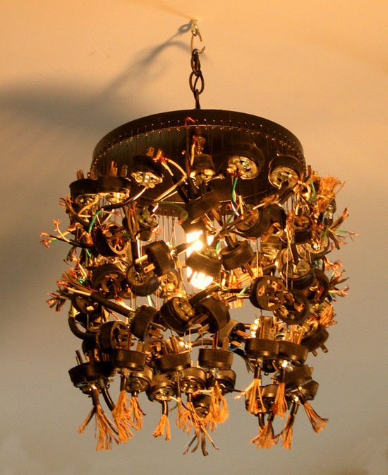 Lamp Revival Collection by Maurice Klapfish - Plug Me In - Light Me Up