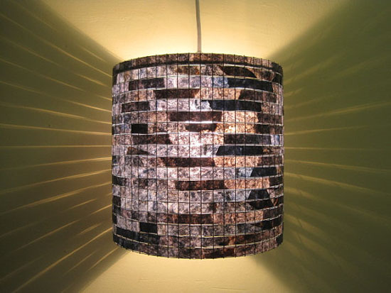 Lamps Made With Recycled Coffee Filters by Vilma Silveira Farrell