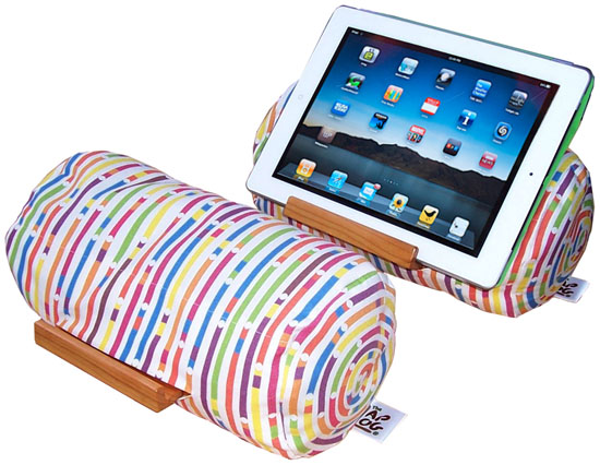 Lap Log Soft Beanbag Tablet Stand