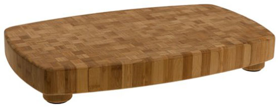 Chop Safely With The Large Totally Bamboo Butcher Block