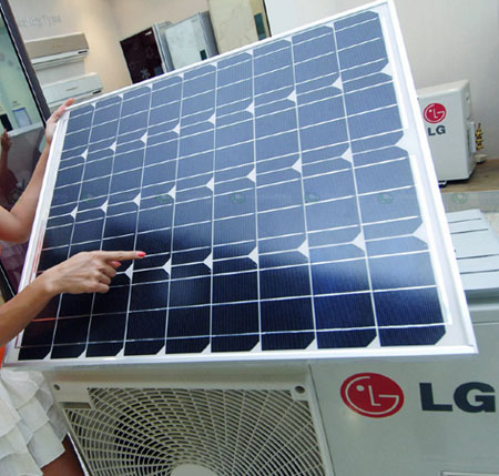 LG Solar Air Conditioner