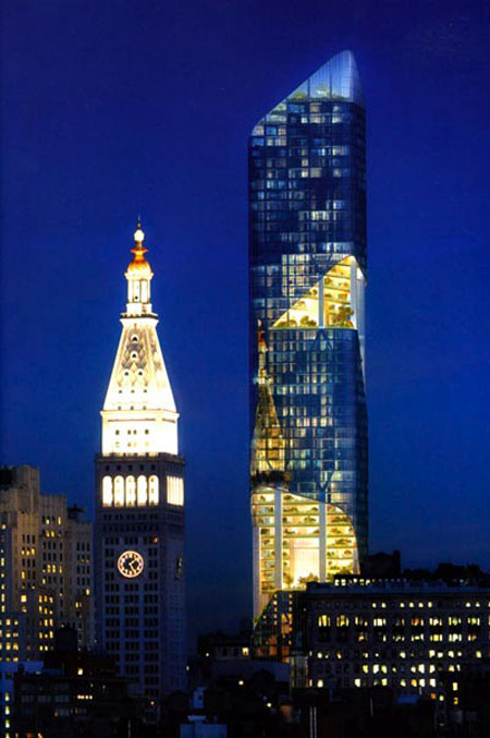 The 54 Storey Condominium by Daniel Libeskind