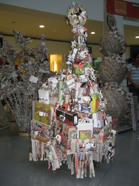 Reciclarte monterrey arte arquitectura reciclado Christmas tree decorating ideas philippines
