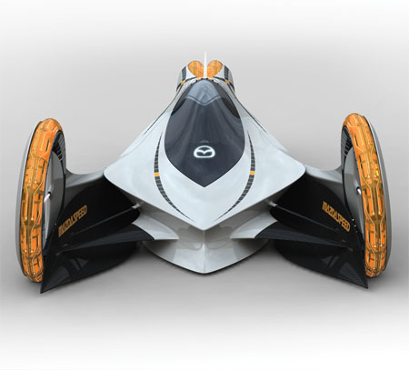 Mazda KAAN an Electric Car to Compete the E1 Races