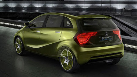 Mercedes Benz E-Cell