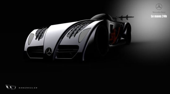 Mercedes-Benz LeMans Electric Race Car Concept