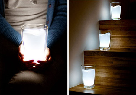 Milk Glass Light