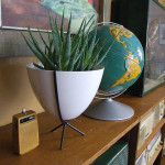 Mini Retro Bullet Planter : Modern Planter to Complete Your Contemporary Decor