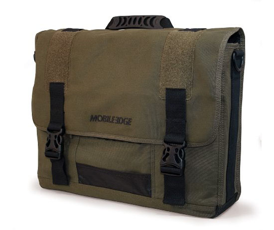 Mobile Edge Canvas Messenger Bag