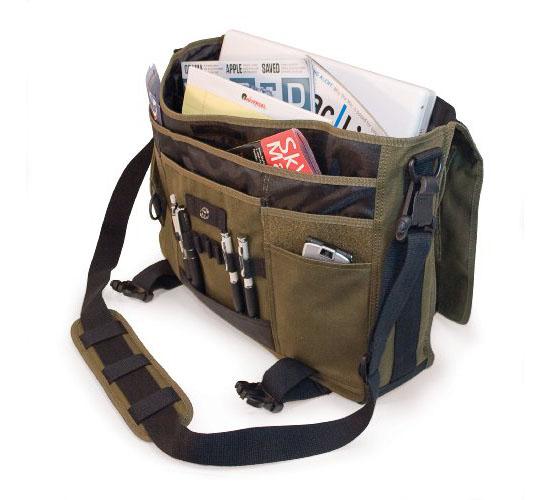 Mobile Edge Canvas Messenger Bag