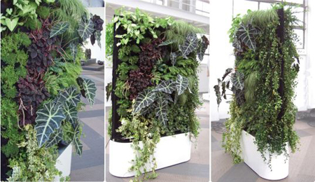 Mobile Plant Wall