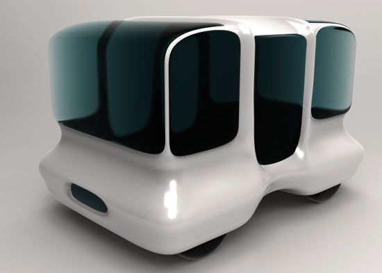 Modget Eco Sea Bus by Yu Hiraoka