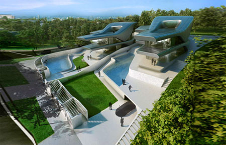 Nassim Villas: Sustainable Home Designs By Zaha Hadid | Green ...