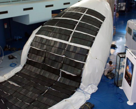 Solar Powered Blimp