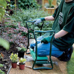 Ohuhu Garden Kneeler and Seat to Reduce Pain from Kneeling While Gardening