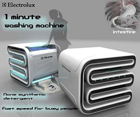 One-Minute Washing Machine from Electrolux
